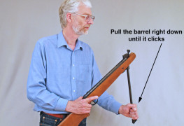 How To Load Break Barrel Air Rifles Safely