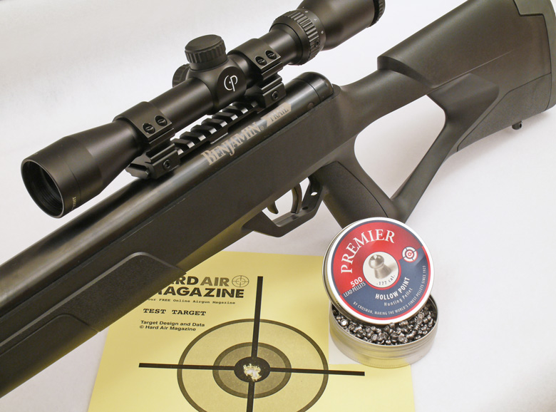 Benjamin Trail NP2 air rifle HAM test review.