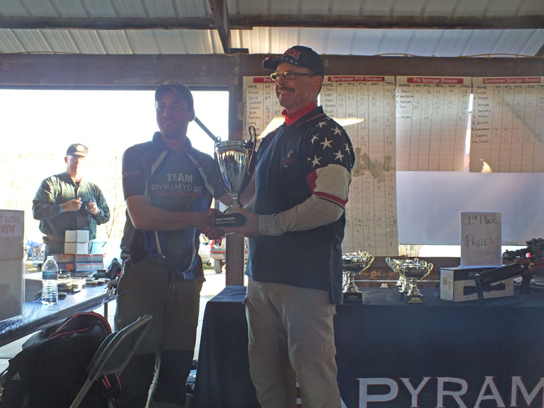 Ray Appelles Wins the Pyramyd Air Cup 2014