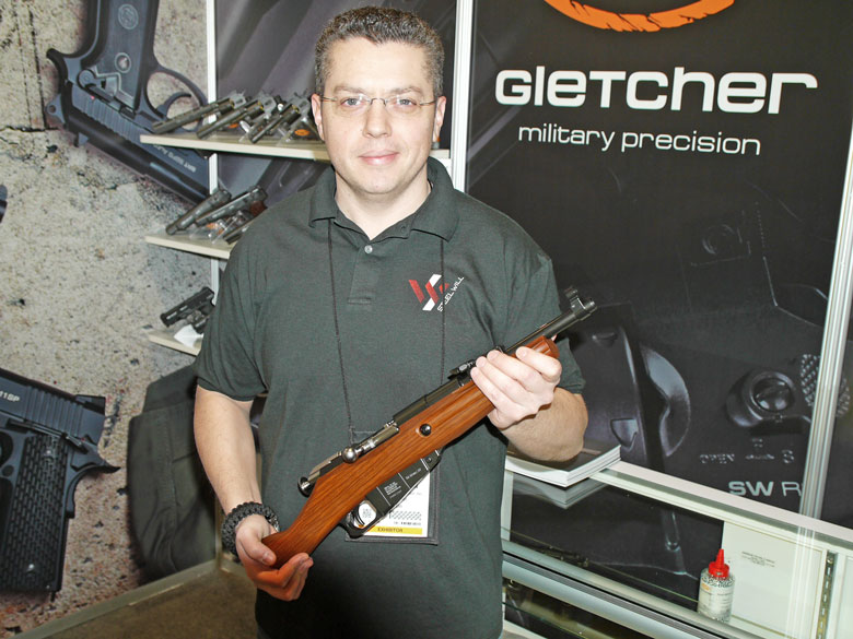 New airguns at SHOT Show 2015 - Gletcher M1891