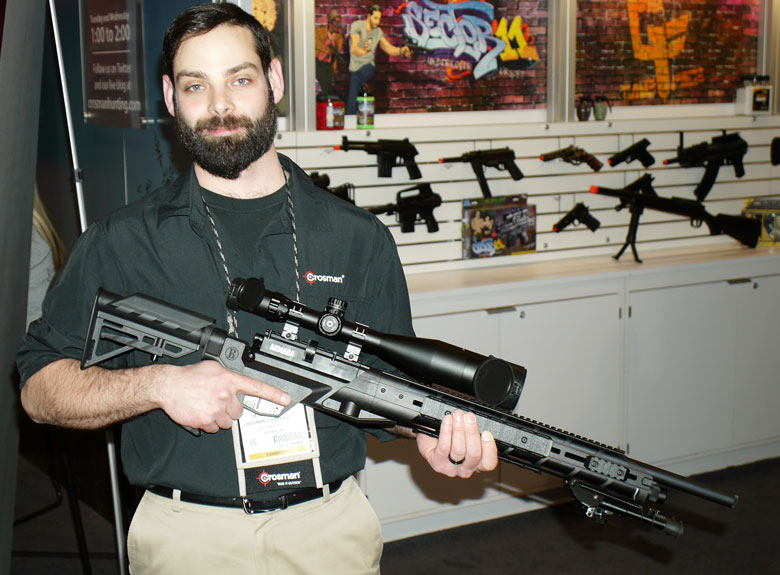 New airguns at SHOT Show 2015 - Benjamin Armada