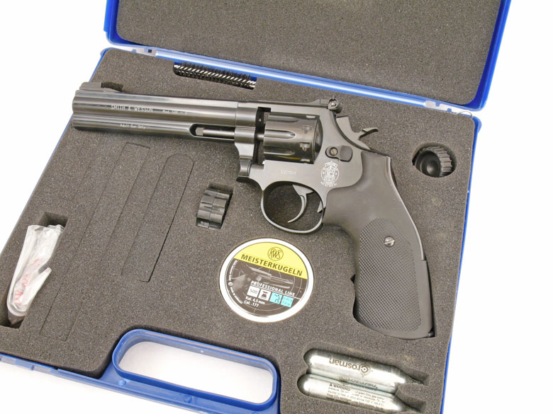 S&W 586 Air Pistol Test Review