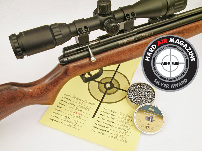 Benjamin Discovery Air Rifle Test Review
