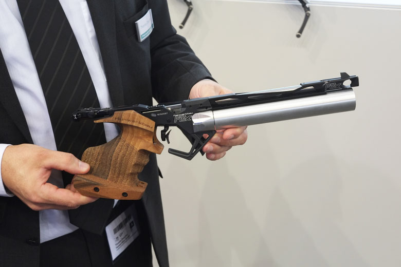 Feinwerkbau and Steyr have new pistols out