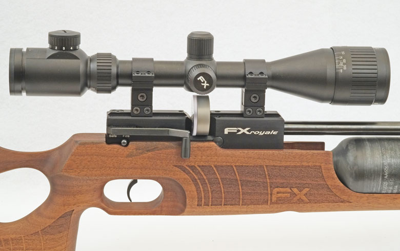 FX Royale 400 Air Rifle Test Review .22 Cal