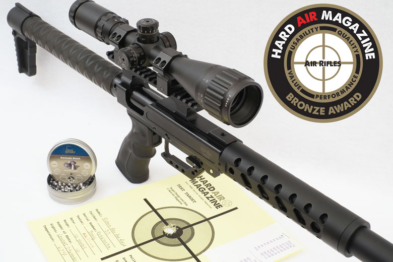 Evanix Rex Air Rifle Test Review .22 Cal