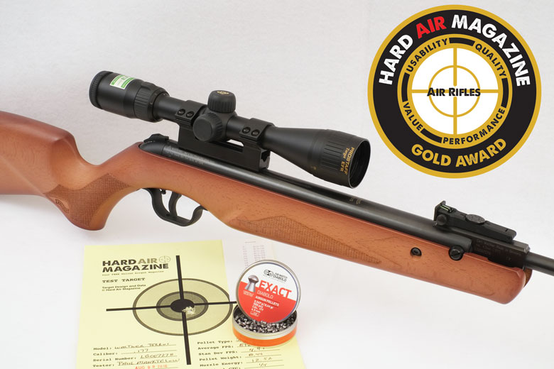 Walther Terrus Air Rifle Test Review .177 Cal