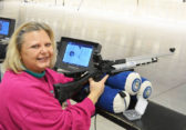 Ladies Shoot Air Rifle and Win in Bench Matches at The CMP