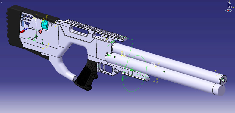 Evanix Conquest Semi Full Auto Pcp: Exclusive! Pre-Launch CAD Files Show New Evanix Semi-Auto