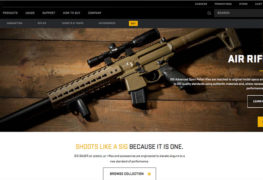 New SIG SAUER Website Launched