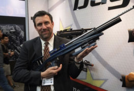 airguns at the 2017 SHOT Show