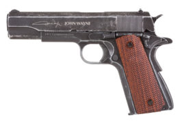 New John Wayne 1911 Metal CO2 BB Pistol for 2017 SHOT Show Launch