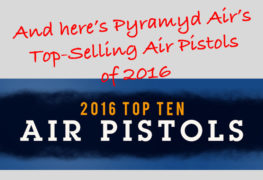 Pyramyd Air Announces Top Selling Air Pistols of 2016