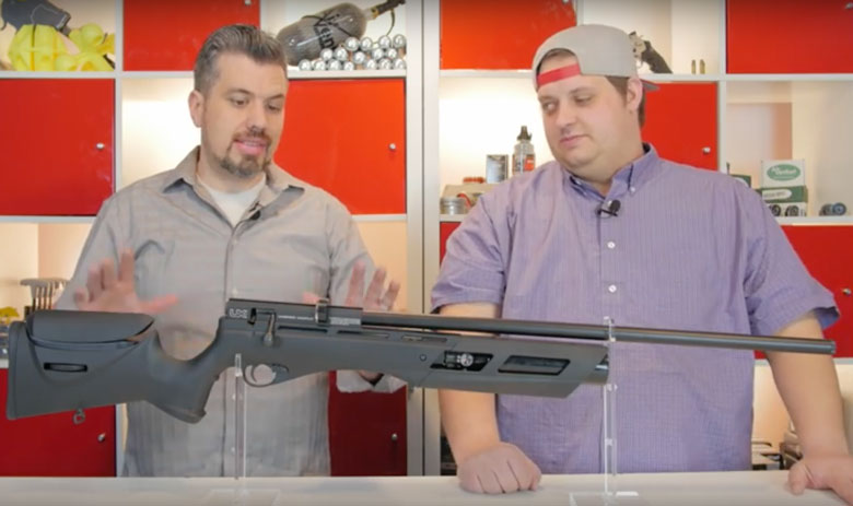 Airgun Depot Makes First Umarex Gauntlet PCP Video