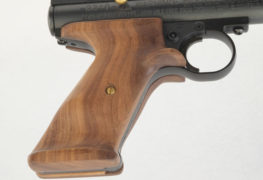 New Walnut Grips for Crosman and Benjamin Air Pistols.