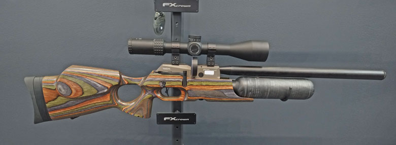 IWA 2017 Day One - New FX Crown Air Rifle Announced.