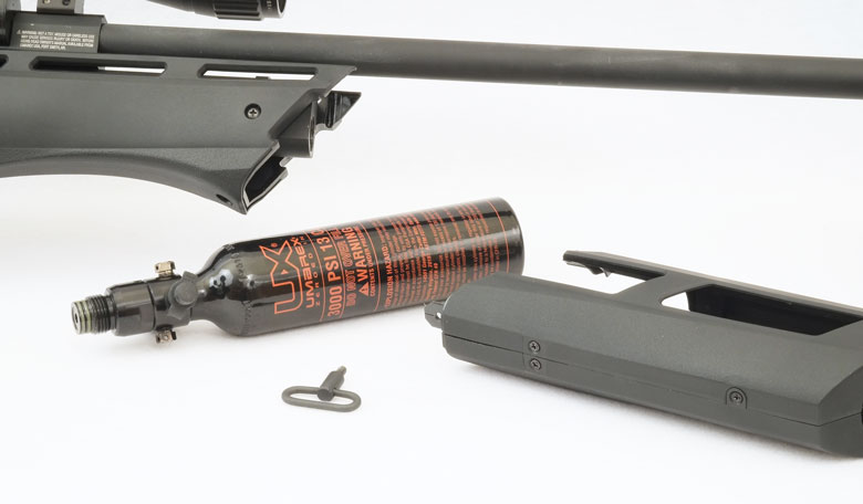 Umarex tells us that the Gauntlet will also be supplied with a single shot tray, which will be welcomed by many Field Target shooters.