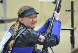 Gibson Fires Record Overall Score During 2017 JROTC National Air Rifle Championship Win