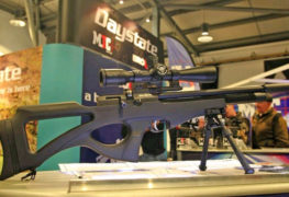 New Brocock Compatto Deluxe PCP Air Rifle Launched at UK Shooting Show.