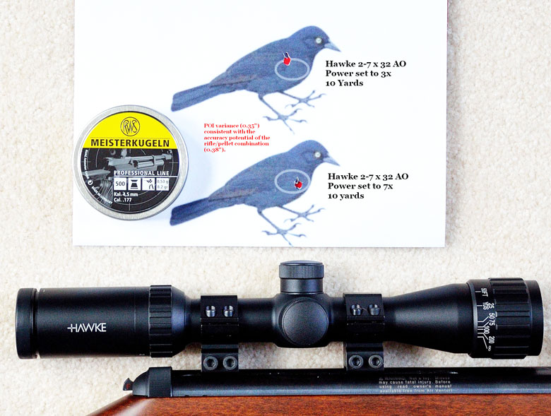 The Hawke 2-7x32 AO Air Rifle Scope Review, Part One