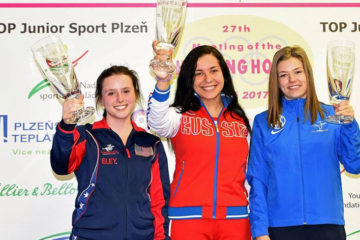 Emily Stith Gains Two Silver Medals in Air Rifle at Shooting Hopes Competition in Czech Republic.
