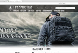 New Look Leapers Website Now Live.