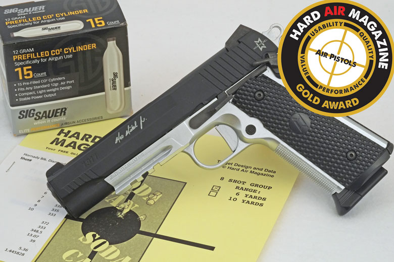 SIG SAUER 1911 Max Michel BB Pistol Test Review