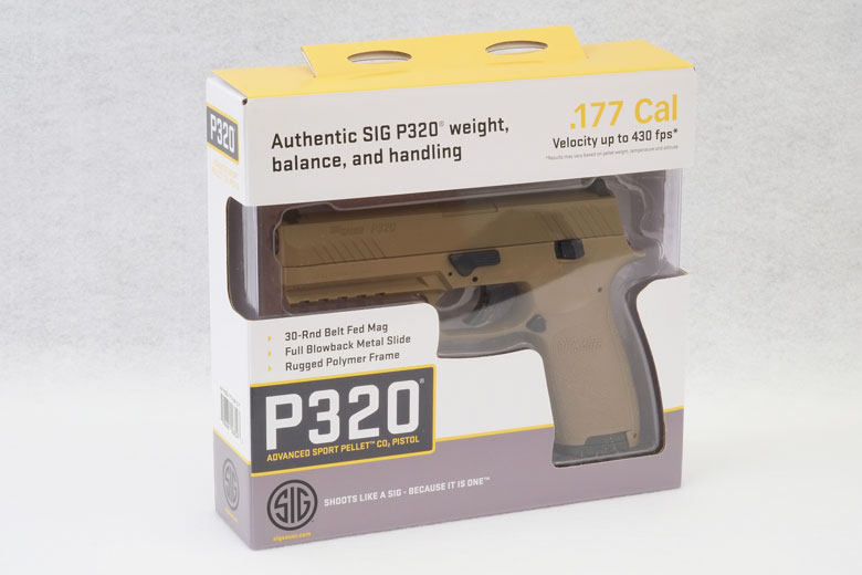 First Close Look at the SIG SAUER P320 Air Pistol