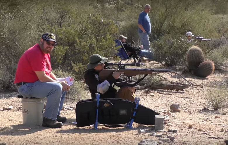 Giles Introduces Us To The Phoenix Airgun Club.