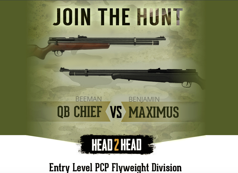 Beeman Chief Versus Benjamin Maximus Head To Head Review