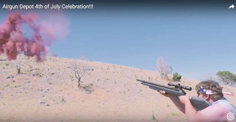 Happy Fourth of July Airgun Video From Airgun Depot