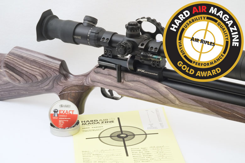 FX Streamline Air Rifle Test Review .177 Caliber