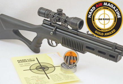 Beeman QB78S Air Rifle Test Review .177 Caliber