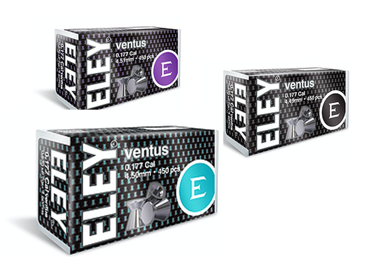 New ELEY Ventus Pellets Launched in the USA.