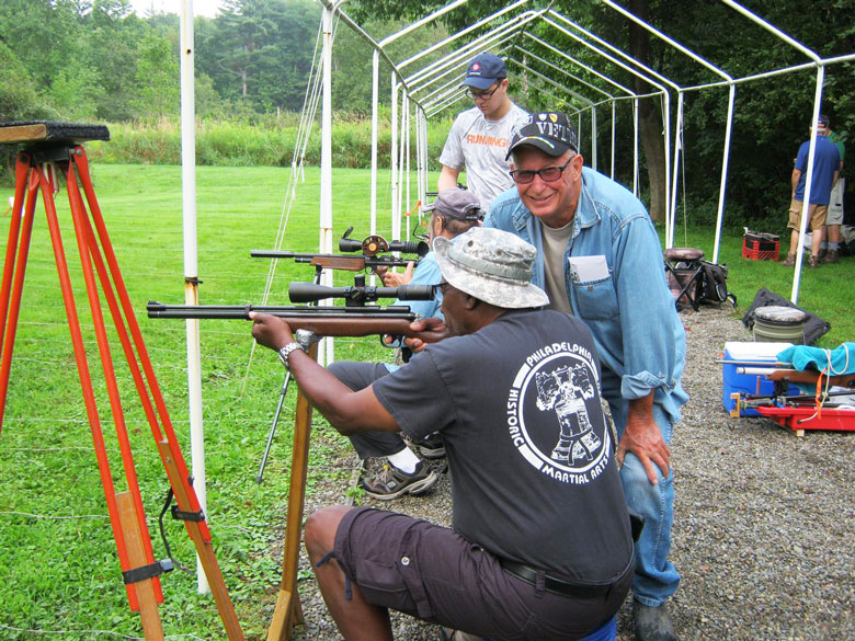 Greg's Guide to Field Target Shooting - A Typical FT Match.