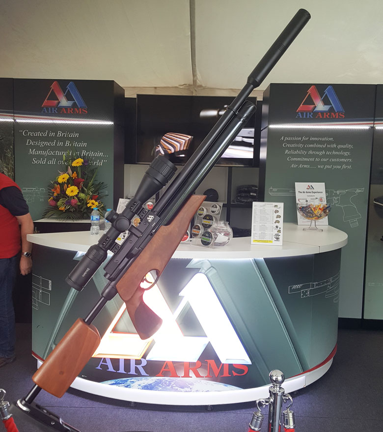 A New Air Arms Take Down Rifle – The S510 TDR