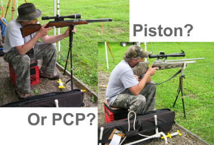 Hunter Piston or Hunter PCP. What's The Best Choice For Field Target Competition?