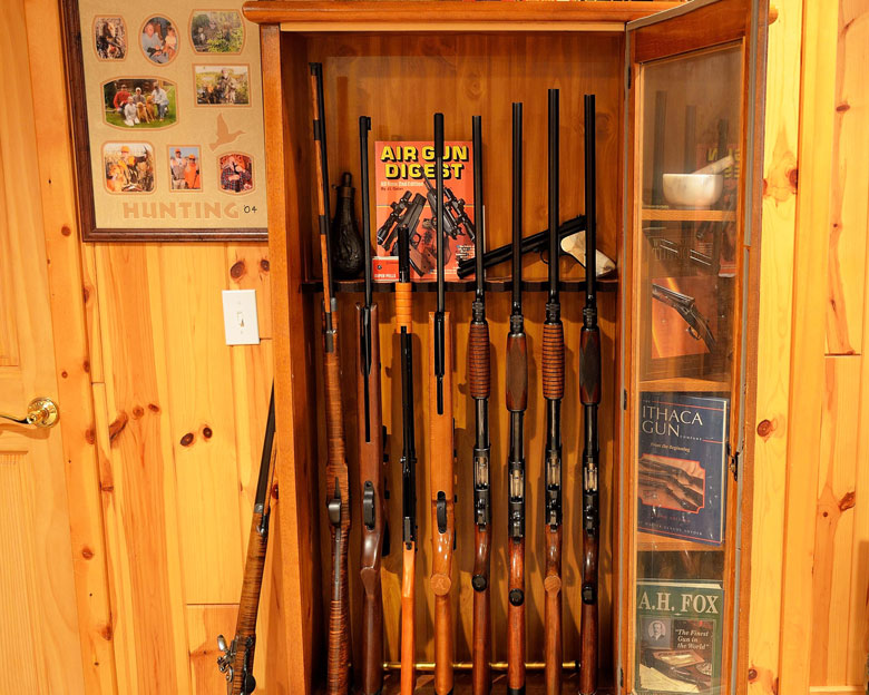 Ron Jones Takes Us On A Tour Of His Sportsman's Room