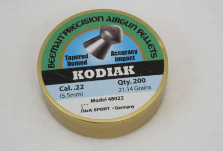 Beeman Kodiak 21.14 Grain .22 Caliber Pellet Test Review