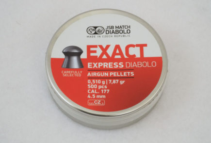 JSB Exact Express Diabolo 7.87 Grain .177 Pellet Test Review