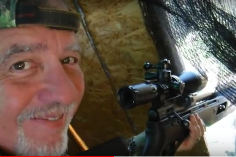 Jim Chapman Shoots Taking Pest Birds in South Africa With The Umarex Gauntlet