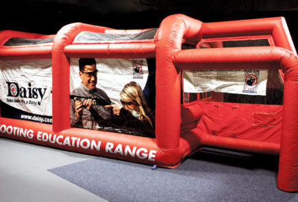 Daisy's New Inflatable BB Gun Range Provides Safe Firearm Education