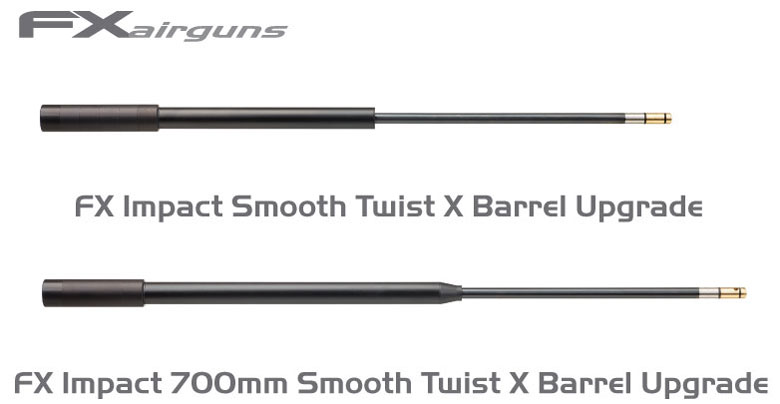 New FX 700mm Smooth Twist X Barrel Announced For The FX Impact