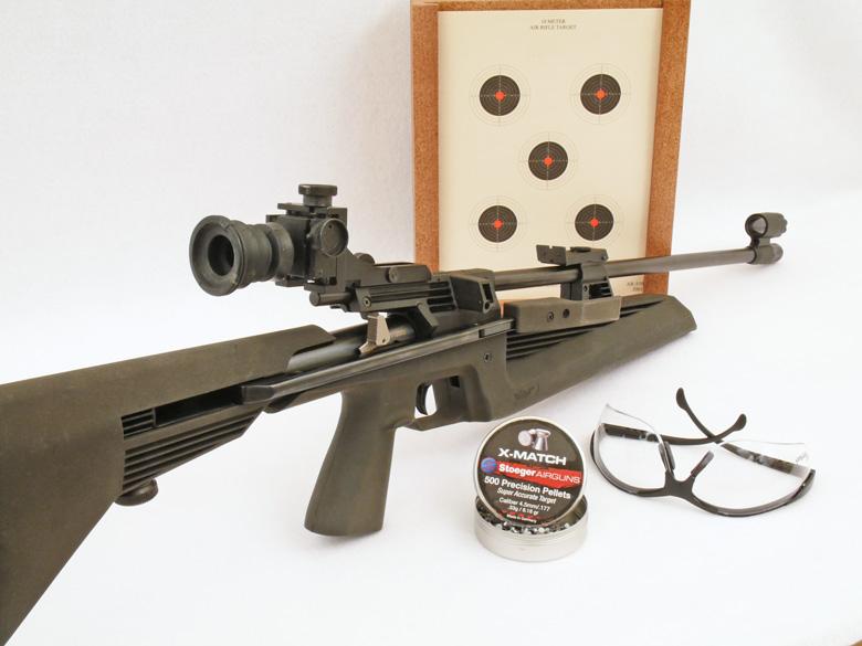 airgun target shooting