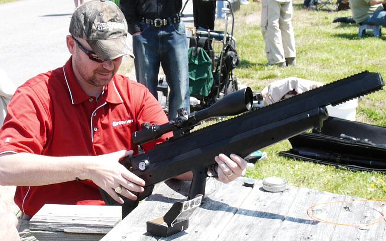 Benjamin Bulldog prototype air rifle