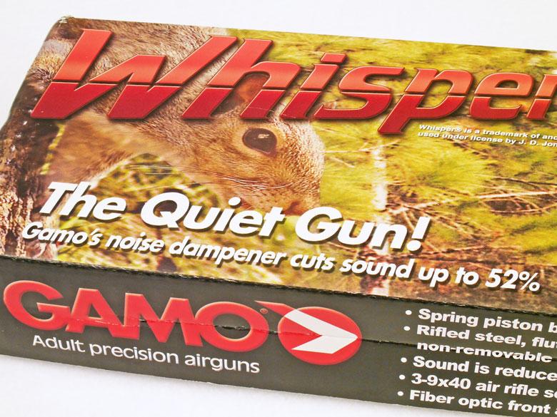 Gamo Whisper air rifle test review