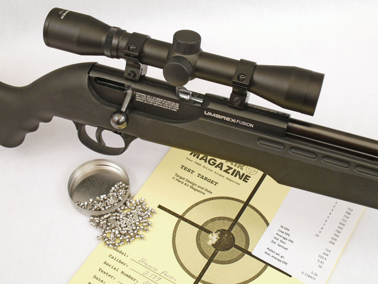 Umarex Fusion Air Rifle Test Review  177 Cal