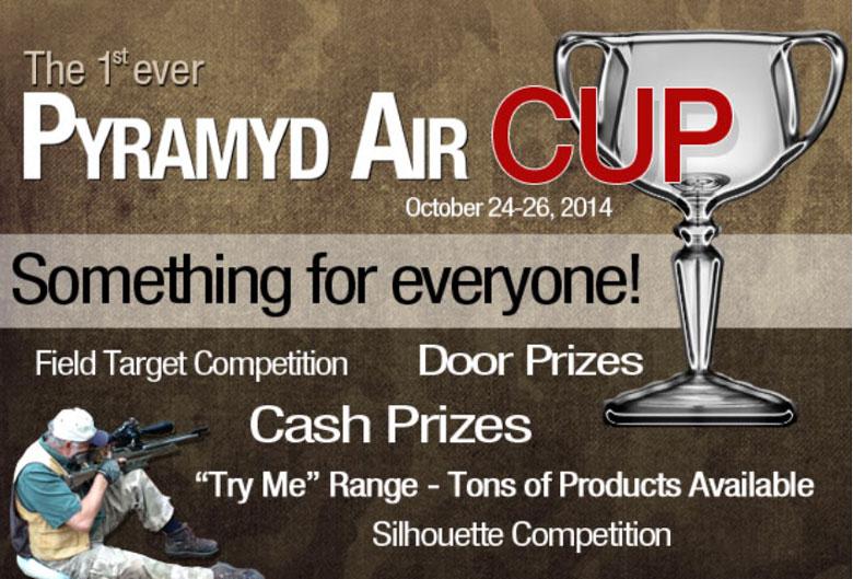 Pyramyd air cup airgun competition