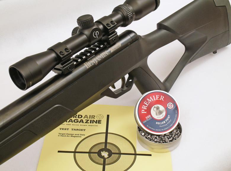 Benjamin Trail NP2 air rifle HAM test review.