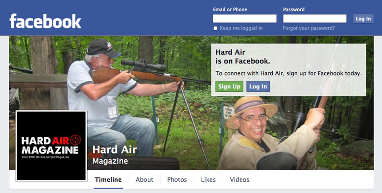 Hard Air Magazine FaceBook Page